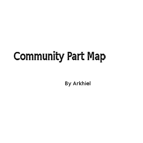 Community Part Map - Kenshi мод