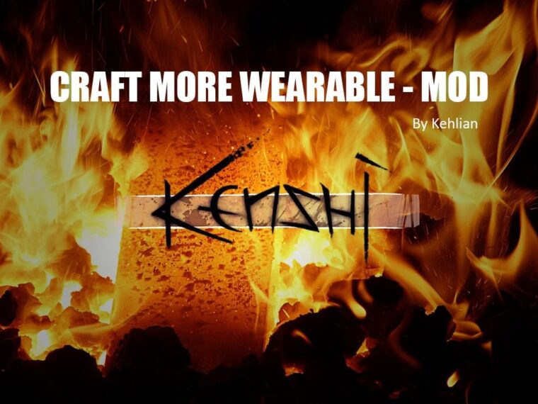 Craft more wearable - Kenshi мод