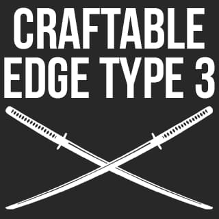 Craftable Edge type 3 weapons - Kenshi мод