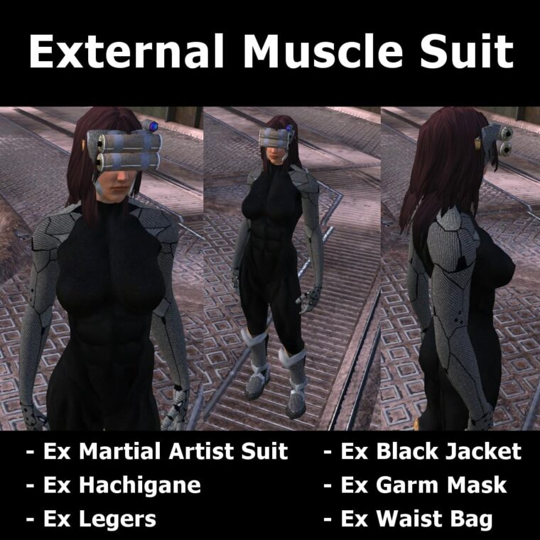 External Muscle Suit - Kenshi мод