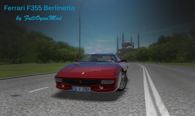 Ferrari F355 Berlinetta (1.5.9) - City Car Driving мод