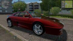 Ferrari F355 Berlinetta (1.5.9) - City Car Driving мод (изображение 3)