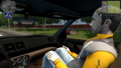 Ferrari F355 Berlinetta (1.5.9) - City Car Driving мод (изображение 4)
