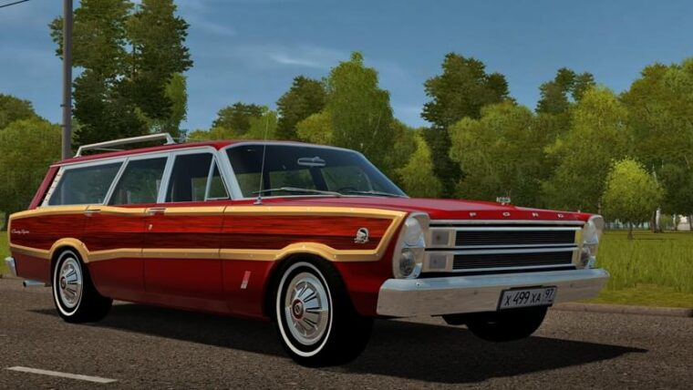 Ford Country Squire (1.5.9) - City Car Driving мод