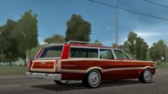 Ford Country Squire (1.5.9) - City Car Driving мод (изображение 2)