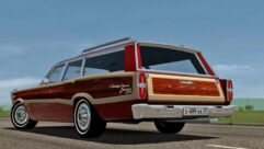 Ford Country Squire (1.5.9) - City Car Driving мод (изображение 3)