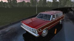 Ford Country Squire (1.5.9) - City Car Driving мод (изображение 4)