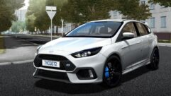 Ford Focus RS 2017 (1.5.9) - City Car Driving мод
