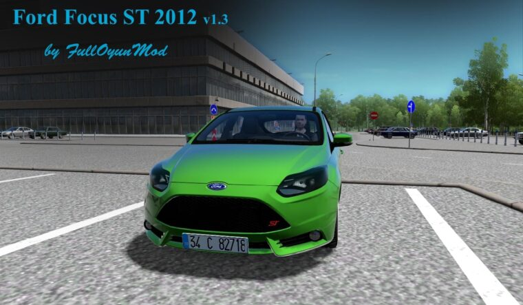 Ford Focus ST 2012 (1.5.9) - City Car Driving мод