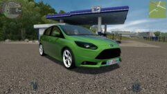 Ford Focus ST 2012 (1.5.9) - City Car Driving мод (изображение 3)