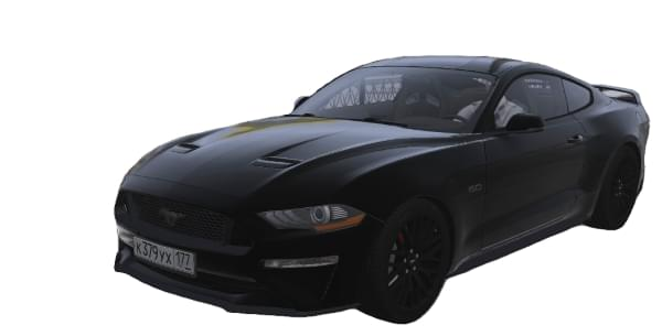 Ford Mustang GT 2018 (1.5.9) - City Car Driving мод