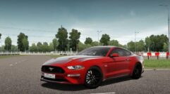 Ford Mustang GT 2018 (1.5.9) - City Car Driving мод (изображение 2)