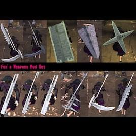 Fox's Weapons Mod Set (Rus Patch) - Kenshi мод