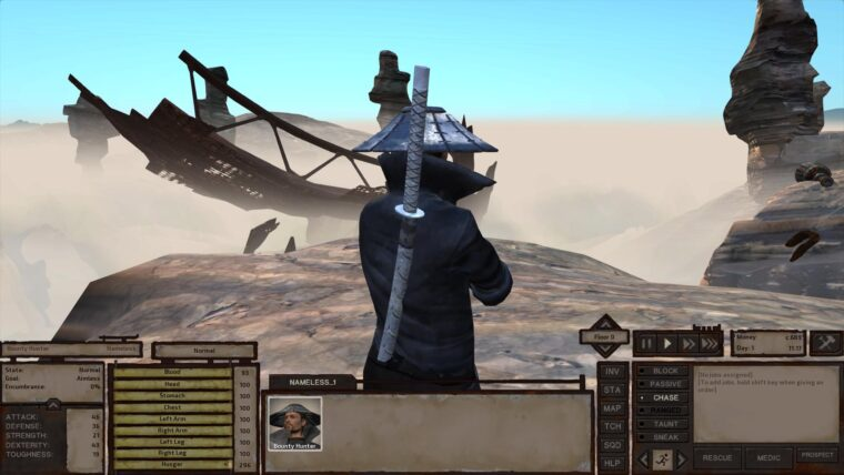 Game Start — Bounty Hunter — New Version - Kenshi мод