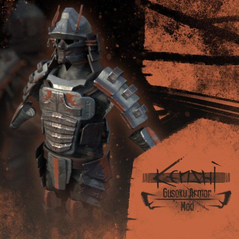 Gusoku Armor Set - Kenshi мод