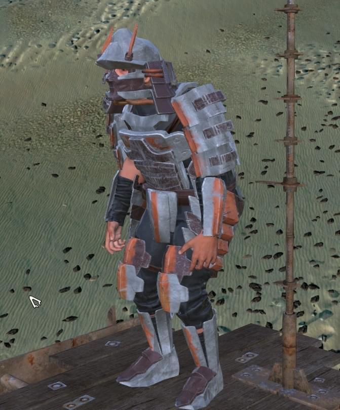 Gusoku Armor Set - Kenshi мод (изображение 9)
