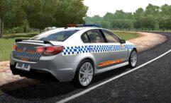 Holden Commodore VF SSV Redline (1.5.9) - City Car Driving мод (изображение 9)