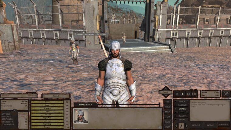 Holy Nation start with a good amount of skills - Kenshi мод