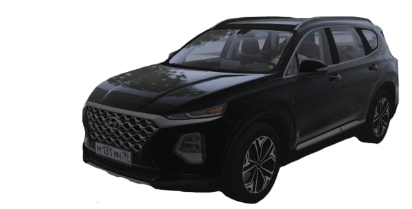 Hyundai Santa Fe 2.0T 2019 (1.5.9) - City Car Driving мод