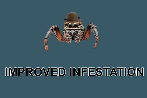 Improved Infestation - RimWorld мод