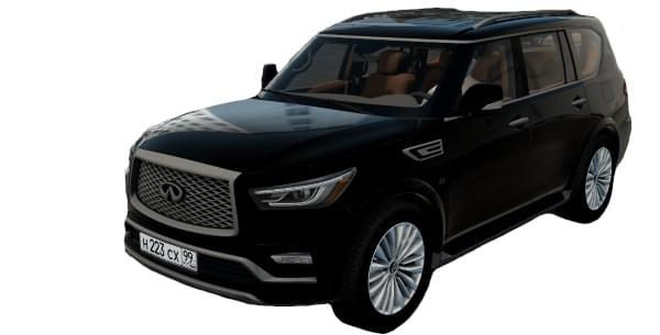 Infiniti QX80 2019 (1.5.9) - City Car Driving мод