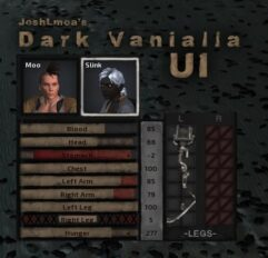 JoshLmoa's Dark Vanilla UI - Kenshi мод