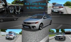 Kia Forte Koup (1.5.9) - City Car Driving мод