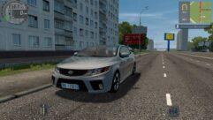 Kia Forte Koup (1.5.9) - City Car Driving мод (изображение 4)