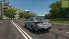 Kia Forte Koup (1.5.9) - City Car Driving мод (изображение 5)