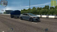 Kia Forte Koup (1.5.9) - City Car Driving мод (изображение 6)