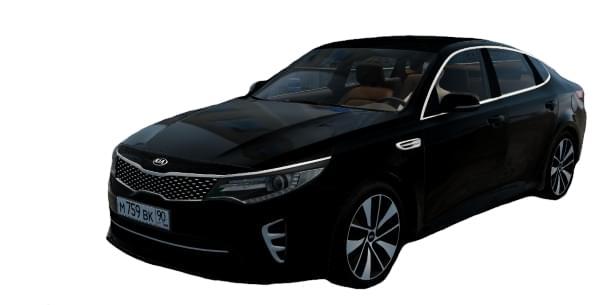 Kia Optima 2016 2.0 GT (1.5.9) - City Car Driving мод