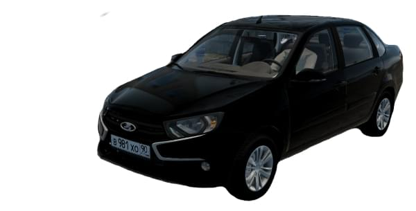 LADA Granta FL 2018 1.6i 16v (1.5.9) - City Car Driving мод