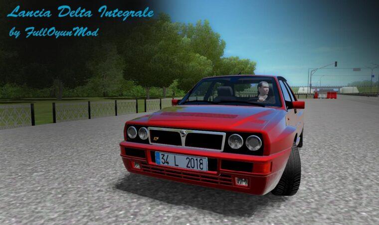 Lancia Delta HF Integrale EVO (1.5.9) - City Car Driving мод