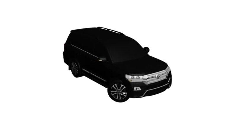 Toyota Land Cruiser 200 2016 (1.5.9) - City Car Driving мод