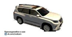 Lexus GX 460 (1.5.9) - City Car Driving мод
