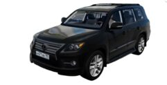 Lexus LX570 5.7 Sport Design (1.5.9) - City Car Driving мод