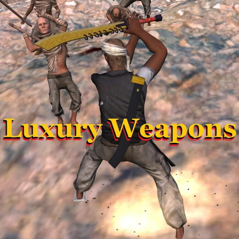 Luxury Weapons (Add Models) - Kenshi мод