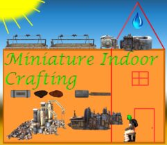 MINDOORS: Miniature Indoor Resource Production - Kenshi мод