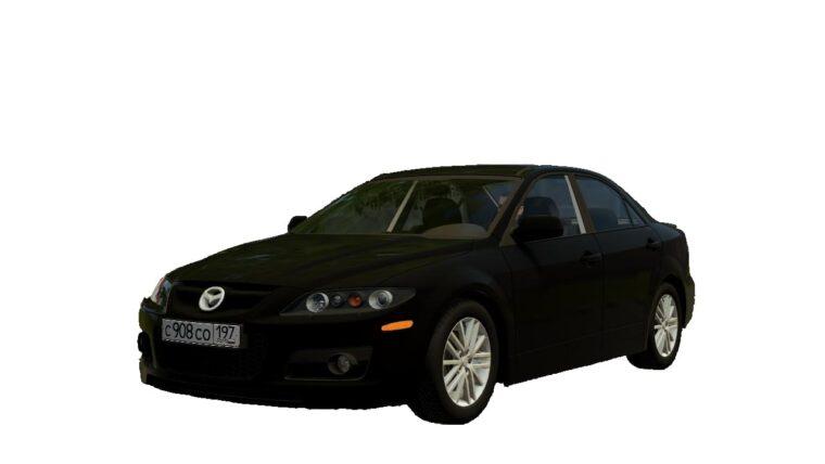 Mazda 6 MPS (1.5.9) - City Car Driving мод