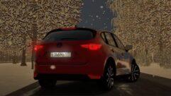 Mazda CX-5 2.5 2017 (1.5.9) - City Car Driving мод (изображение 3)