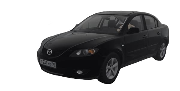 Mazda 3 1.6 MT (1.5.9) - City Car Driving мод