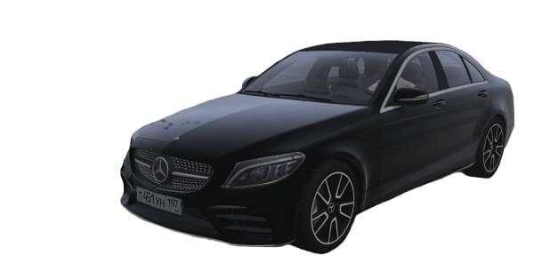 Mercedes-Benz C-Class C300 (1.5.9) - City Car Driving мод