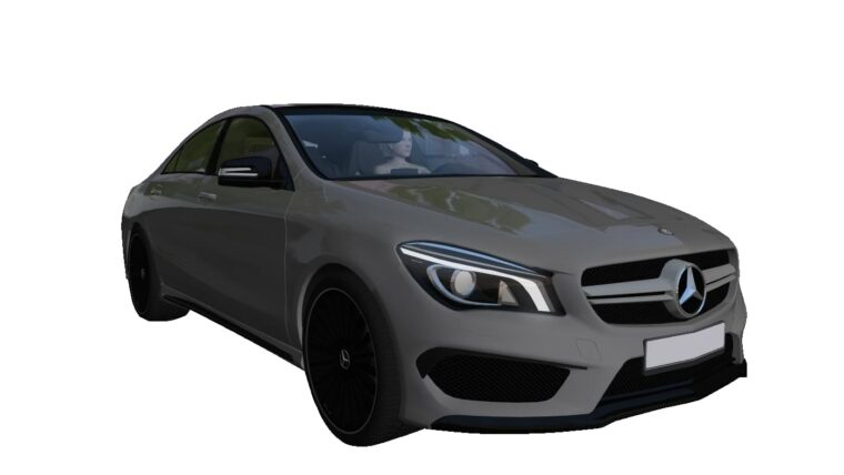 Mercedes-Benz CLA 45 AMG (1.5.9) - City Car Driving мод