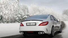 Mercedes-Benz CLS 63 AMG 4MATIC 2015 (1.5.9) - City Car Driving мод (изображение 3)