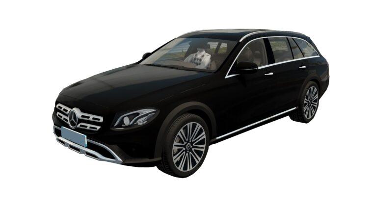 Mercedes-Benz E400d All-Terrain 2019 (1.5.9) - City Car Driving мод