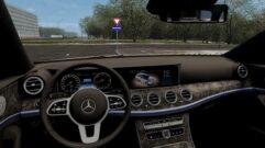 Mercedes-Benz E400d All-Terrain 2019 (1.5.9) - City Car Driving мод (изображение 4)