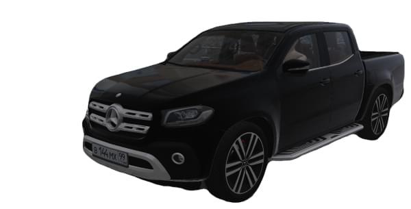 Mercedes-Benz X-Class X 350d 4MATIC (1.5.9) - City Car Driving мод