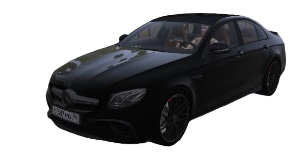 Mercedes-Benz W213 E63S AMG (1.5.9) - City Car Driving мод