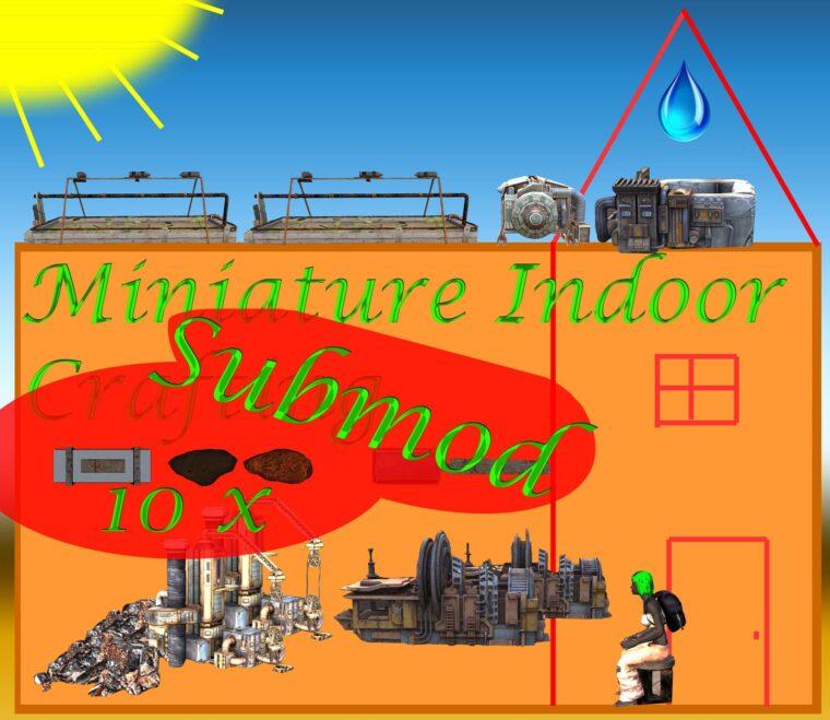 MINDOOR 10x Output Submod - Kenshi мод