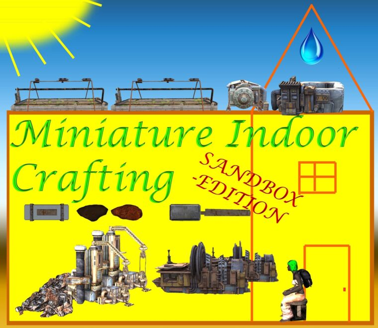 Miniature Indoor Resource Production (Well, Mines, Refineries…) SANDBOX-Version - Kenshi мод